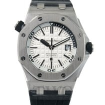 오드마피게 (Audemars Piguet) Royal Oak Offshore Diver Silver...