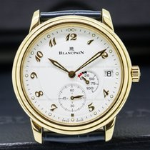 Blancpain 1106-1418-55 Leman Power Reserve 18K Yellow Gold...