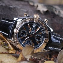 Breitling Chrono Galactic Chronograph Steel & Gold