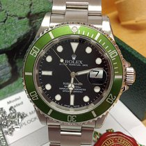 Rolex Submariner Date 16610LV 50th Ann - Fat 4, Y Serial