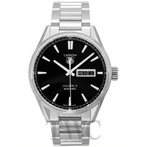 TAG Heuer Carrera Calibre 5 Day-Date Automatic Black Steel 4