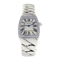 Cartier Ladies 18k Solid White Gold Cartier La Dona 2905 High...