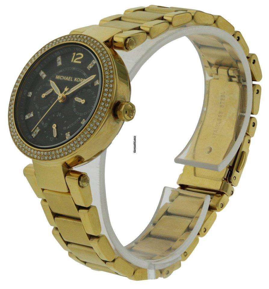 72051b0070ca Michael Kors Mini Parker Gold-Tone Ladies Watch for Rs. 9