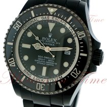 Rolex Sea-Dweller Deepsea, Black Dial - Black PVD Steel on...