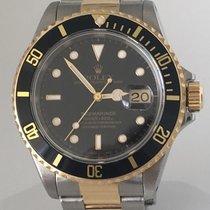 Rolex Submariner 41mm  Gold/Steel  Black Dial & Bezel