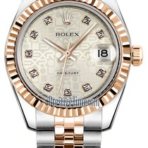 Rolex Datejust 31mm Stainless Steel and Rose Gold 178271...