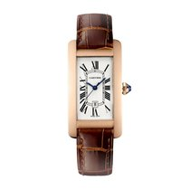 Cartier Tank Americaine Automatic Ladies Watch Ref W2620030