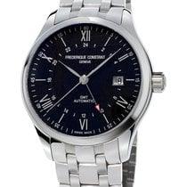Frederique Constant Men's FC-350B5B6B Classic Index GMT Watch