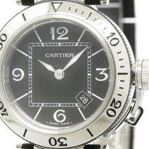 까르띠에 (Cartier) Polished Cartier Pasha Seatimer Steel Quartz...