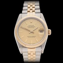 Rolex Datejust Stainless Steel & 18k Yellow Gold Ladies 68273