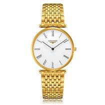 Longines La Grande Classique Quartz Gold Plated White Dial...