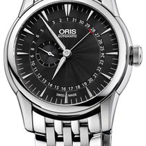 Oris Artelier Pointer Date Automatic Steel Mens Watch 28...