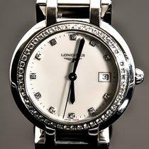 Longines PRIMALUNA MOP DIAL :48 Diamonds 0.403 carats