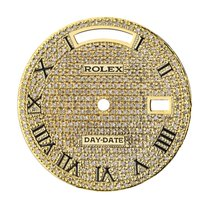 Rolex Day-Date 36mm Gold Diamond Pavé Custom Dial