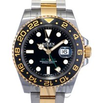 롤렉스 (Rolex) GMT-Master II Black/18k gold Ø40mm - 116713 LN