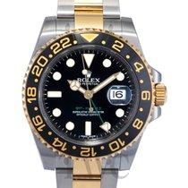 ロレックス (Rolex) GMT-Master II Black/18k gold Ø40mm - 116713 LN