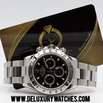 Rolex Daytona 116520 Black Ser. F Full Set Like New