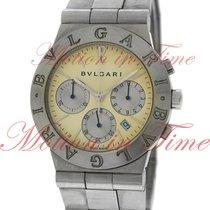 Bulgari Diagono Sport Chronograph, Ivory White Dial - Stainles...