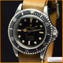 Rolex Submariner Pointed Crown Guard  5512 Tropical Gilt Dial...