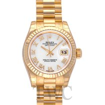 롤렉스 (Rolex) Lady Datejust White MOP/18k Yellow Gold 26mm - 179178