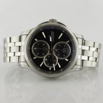Maurice Lacroix Pontos Chronograph On Stainless Steel Bracelet...