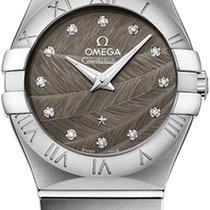 Omega Constellation Brushed 27mm 123.10.27.60.56.001