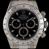 Rolex S/Steel Black Dial Cosmograph Daytona Gents B&P 116520