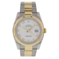 Rolex Oyster Perpetual Datejust Two Tone YG/SS 116233