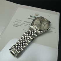 Rolex DATEJUST 1601 SS ORIGINAL Silver (No Lume) Dial with RSC...