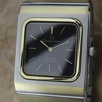 Omega Constellation Mens Automatic 1970s Gold and Stainless...