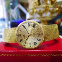 Universal Genève 18k Yellow Gold Hand Winding  Ornate Dial Watch