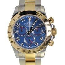 Rolex Cosmograph Daytona, Blue Dial-Stainless Steel &...