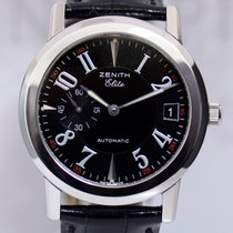Zenith Port Royal Elite Real Ronda Stahl Klassiker Black