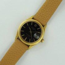 Ρολεξ (Rolex) 1503 Vintage Date Yellow Gold Black Dial