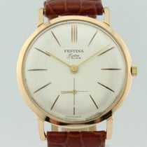 Festina Extra 17 Rubies Manual Winding 18k Gold  1260