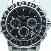Carl F. Bucherer Carl  Patravi Gmt Chronograph On Bracelet...