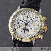 Maurice Lacroix Phase De Lune Chronograph Kalender Mond Automatic