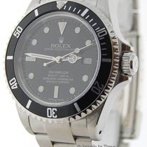 Rolex Sea-Dweller Stainless Steel Mens Automatic Dive Watch 16600
