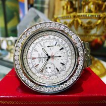Breitling Bentley Motors Diamonds Stainless Steel Automatic...