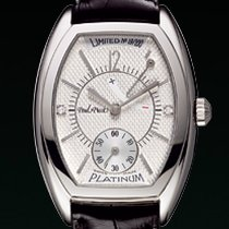 Paul Picot FIRSHIRE 1937 dial white diamond  cash platino...
