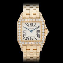Cartier Santos Demoiselle 18k Yellow Gold Ladies 2702 or...