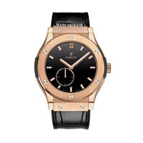 Hublot Classic Fusion King Gold Black Shiny Dial 42mm