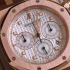 Audemars Piguet ROYAL OAK CHRONOGRAPH ROSE PAPIERE BOX NEAR NOS