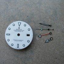 Rolex Explorer II White Dial + Hands Set
