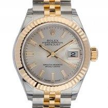 Rolex Datejust Lady Stahl Gelbgold Automatik Armband Jubilé...