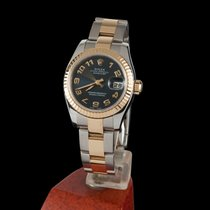 Rolex DATE JUST LADY STEEL AND GOLD