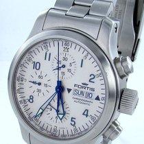 Fortis B-42 Pilot Professional Automatik Chronograph Day-date...