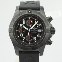 Breitling Avenger Skyland Limited Edition Black Steel Chronogr...