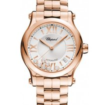 Chopard Happy Sport 36mm Rose Gold watch