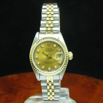 Rolex Lady Datejust 18kt 750 Gold / Edelstahl Automatic...